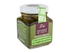 Φιλέτο σαλιγκαριών με σκόρδο και μαϊντανό Escargot de Crete