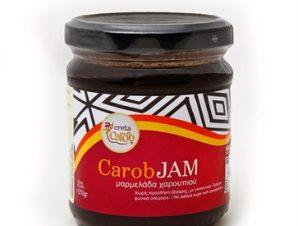 Γλύκισμα μαρμελάδα με χαρούπι Creta Carob 230γρ