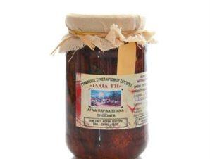 Λιαστή ντομάτα σε ελαιόλαδο Κρήτης ΙΔΑΙΑ ΓΗ 400γρ