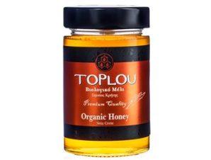 Βιολογικό Μέλι Τοπλού Σητείας με Θυμάρι Πεύκο Βότανα – Great Taste Βραβείο 400gr