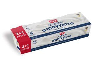 Γιαούρτι Στραγγιστό 8 % Λιπαρά 3 X 200 GR 2+1 Δώρο