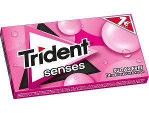 Τσίκλα Senses Bubblegum 27gr
