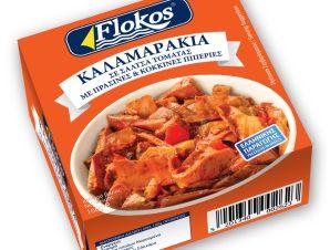 Καλαμαράκια Τομάτα & Πιπεριά 160g