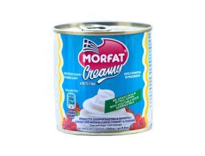 Σαντιγί Φυτική Κρέμα Morfat Creamy Χωρίς Ζάχαρη 250g