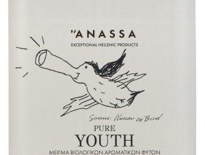 """Μείγμα βιολογικών αρωματικών φυτών «Pure Youth» """"Anassa Organics"""" 40g>"""