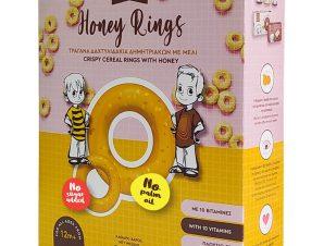 """Τραγανά δαχτυλίδια δημητριακών, Εύβοιας «The Bee Bros» """"Stayia Farm"""" 250g>"""