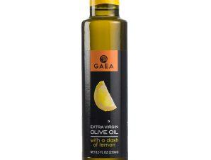"""Εξαιρετικό παρθένο ελαιόλαδο με λεμόνι """"Gaea"""" 250ml>"""