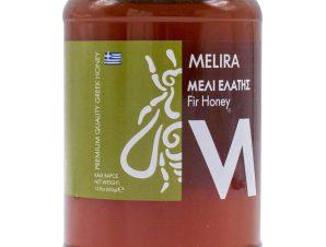 """Μέλι ελάτης Εύβοιας """"Melira"""" 450g>"""