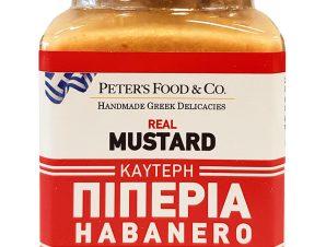 """Μουστάρδα με καυτερή πιπεριά habanero, χωρίς γλουτένη """"Peter's Deli"""" 210ml>"""