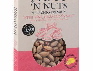 """Ελληνικό κελυφωτό φυστίκι με ροζ αλάτι Ιμαλαίων """"Nuts 'n Nuts"""" 230g>"""