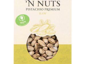 """Ελληνικό κελυφωτό ωμό & ανάλατο φυστίκι """"Nuts 'n Nuts"""" 230g>"""