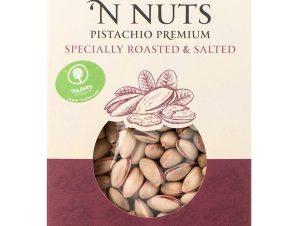 """Ελληνικό κελυφωτό ψημένο & αλατισμένο φυστίκι """"Nuts 'n Nuts"""" 230g>"""