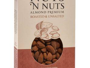 """Ελληνικό αμύγδαλο ψημένο & ανάλατο """"Nuts 'n Nuts"""" 180g>"""