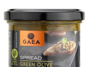 """Πάστα πράσινης ελιάς Χαλκιδικής """"Gaea"""" 100g>"""