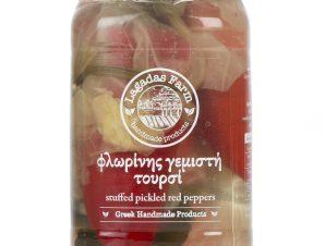 """Χειροποίητο τουρσί γεμιστής πιπεριάς Φλωρίνης """"Lagadas Farm"""" 525g>"""