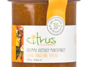 """Χειροποίητο άλειμμα χιώτικου μανταρινιού """"Citrus"""" 250g>"""