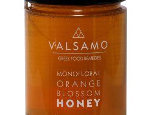 """Μέλι από άνθη πορτοκαλιάς Λακωνίας """"Valsamo"""" 460g>"""