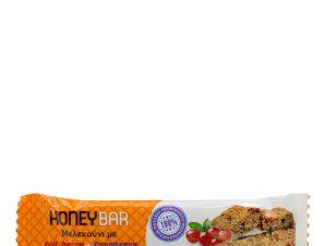 """Μελεκούνι με goji berry & cranberry «Honey bar» Ρόδου """"Μελισσοκομική Δωδεκανήσου"""" 30g>"""