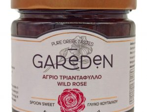 """Γλυκό του κουταλιού άγριο τριαντάφυλλο """"Gareden"""" 310g>"""