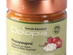 """Άλειμμα τομάτας με πιπεριά & κατίκι Δομοκού Φθιώτιδας """"Dolopia"""" 250g>"""