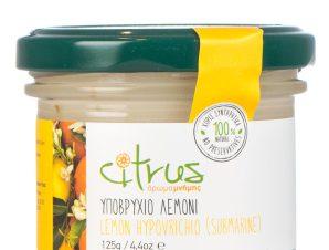 """Παραδοσιακό υποβρύχιο λεμόνι, Χίου """"Citrus"""" 125g>"""