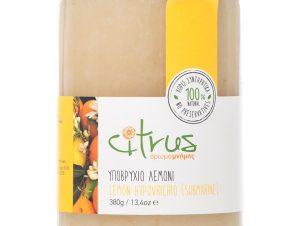 """Παραδοσιακό υποβρύχιο λεμόνι, Χίου """"Citrus"""" 380g>"""