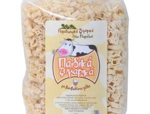 """Παραδοσιακά παιδικά ζυμαρικά με βουβαλίσιο γάλα, Σερρών """"Ανδρεάδου Γεωργία"""" 400g>"""