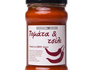 """Παραδοσιακή σάλτσα τομάτας & τσίλι """"Simply Greek"""" 280g>"""