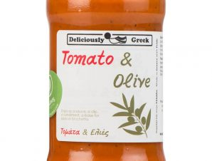 """Παραδοσιακή σάλτσα τομάτας με ελιές """"Simply Greek"""" 280g>"""